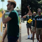 The Alpha Alpha boys marched in the Phoenix Pride Parade on April 5th.