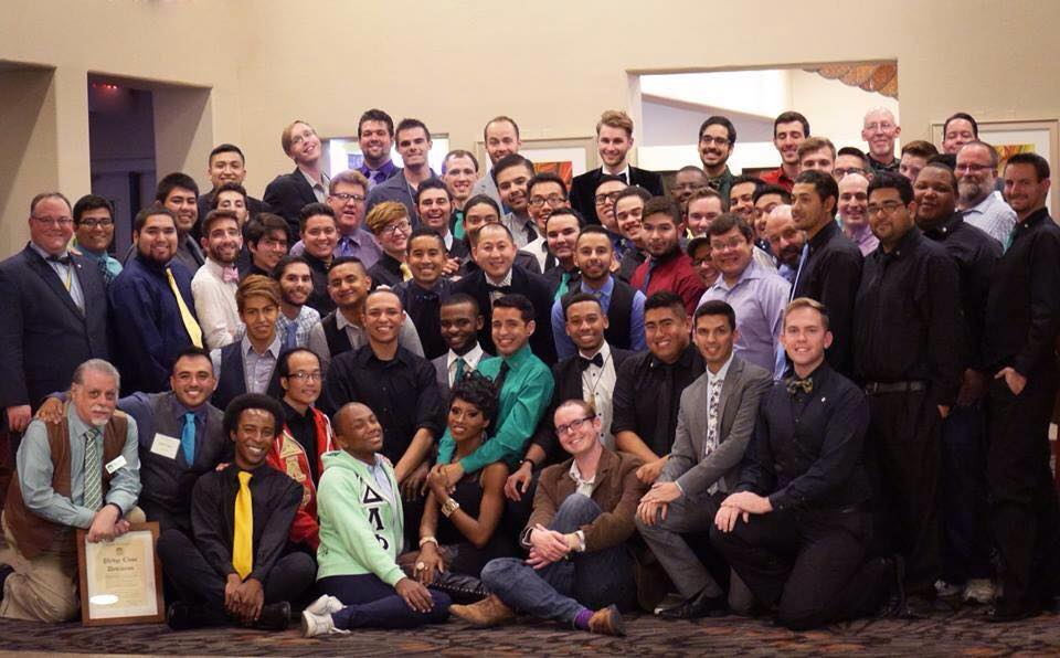Brothers at Western Conference in Las Vegas, NV.